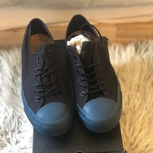 Converse Black Blue Jack Purcell